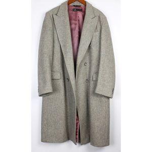 The American Man Long Wool Pea Coat